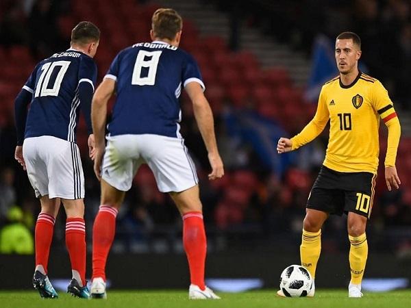 Dự đoán Bỉ vs Scotland, 01h45 12/6
