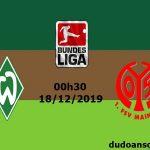 Dự đoán Bremen vs Mainz, 00h30 ngày 18/12