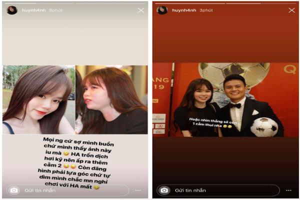 """Đáp trả của bạn gái Quang Hải khi bị nhận xét là """"kém xinh"""""""