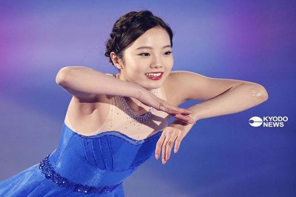 HÌnh ảnh đẹp của thánh nữ trượt băng Nhật Bản