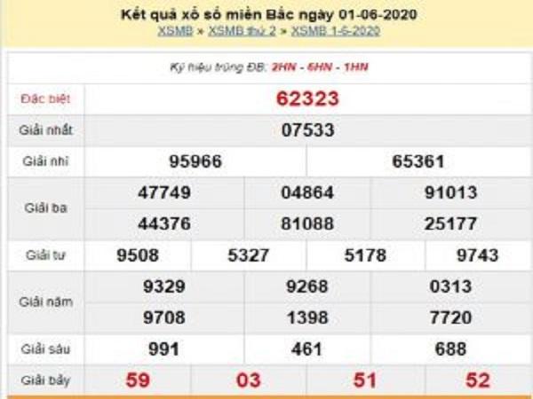 Soi cầu bạch thủ KQXSMB xổ số miền bắc thứ 3 ngày 02/06 tỷ lệ trúng cao