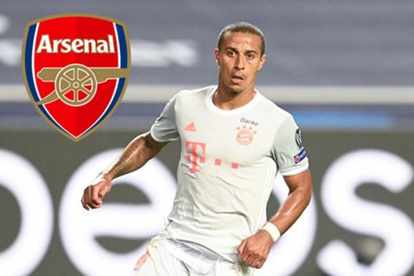 Tin chuyển nhượng 23/8: Arsenal: 'Pháo thủ' nhảy vào cuộc đua giành Thiago