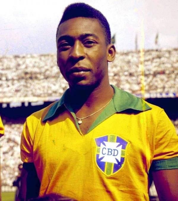 Cầu thủ huyền thoại Brazil Vua bóng đá Pele