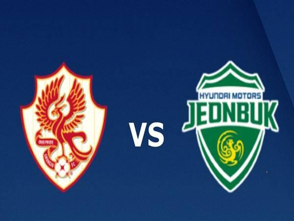 Dự đoán bóng đá Gwangju vs Jeonbuk Motors, 14h00 ngày 12/9