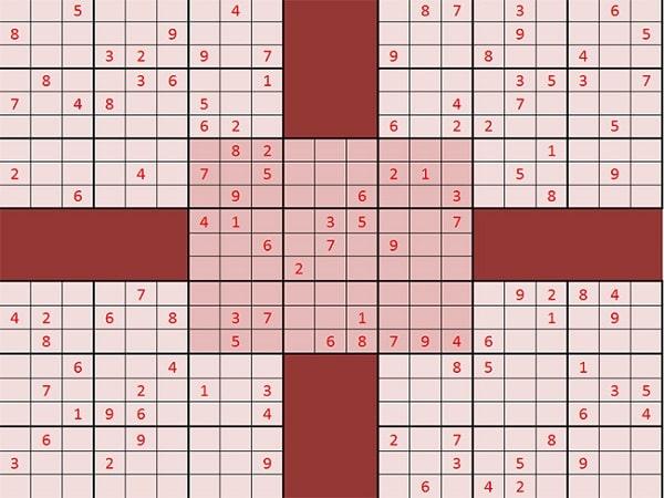 Cách chơi sudoku dễ giành thắng lợi