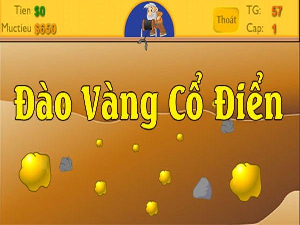 Cách chơi game đào vàng cổ điển đạt điểm cao