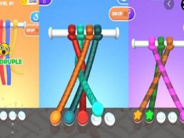 Cách chơi game Tangle Master 3D chi tiết cho người mới