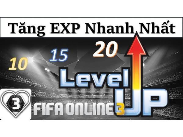 Cách lên level nhanh trong Fifa Online 3 cực hiệu quả