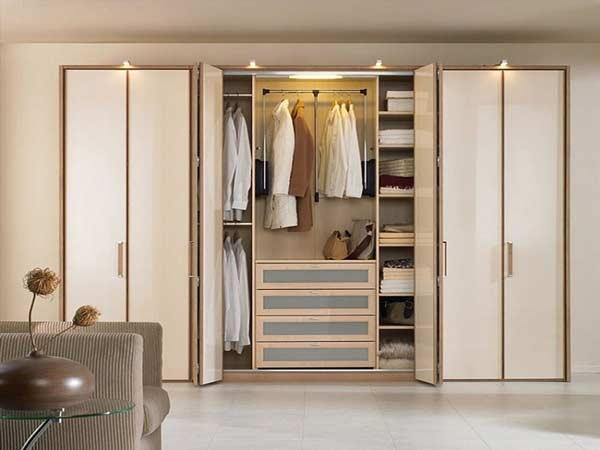 Các đặt tủ quần áo trong phòng ngủ hợp phong thủy