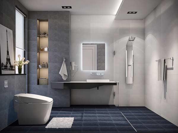 Cách hóa giải nhà vệ sinh ở giữa nhà bằng các vật phẩm phong thủy