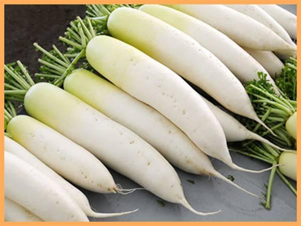 Nằm mơ thấy củ cải trắng