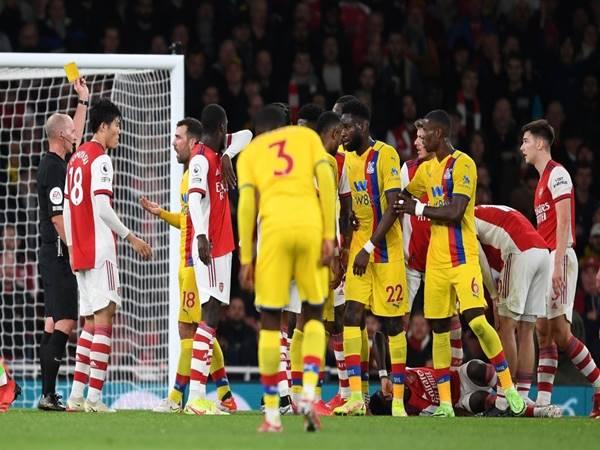 Tin bóng đá Anh trưa 19/10: Arteta đòi thẻ đỏ cho cầu thủ Palace